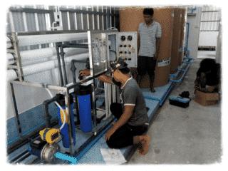 รับติดตั้งโรงงานผลิตน้ำดื่มro