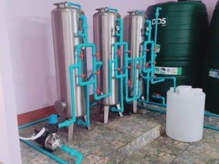 งานติดตั้งโรงงานผลิตน้ำดื่ม